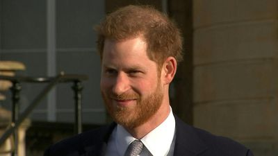 Prince Harry hosts 2021 Rugby League World Cup draw at Buckingham Palace