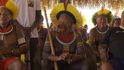 Indigenous leaders gather to oppose development in Amazon