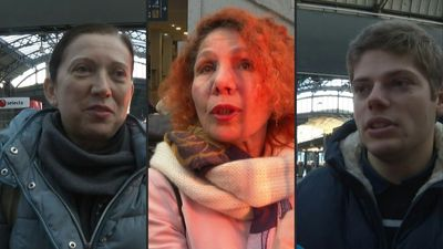 "Paris commuters ""on edge"" and can't wait for strike ""to stop"""