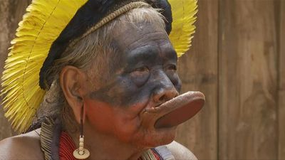 Indigenous leader Raoni Metuktire stresses the importance of an alliance to defend Amazon tribes