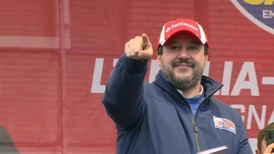 Salvini holds rally a week ahead of Emilia-Romagna regional vote