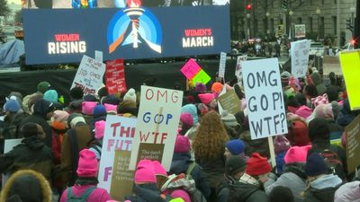 Women's March kicks off in DC