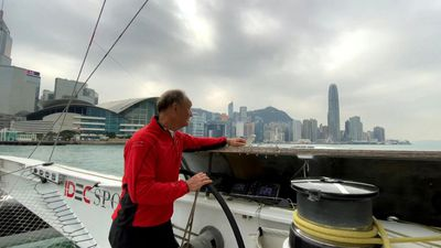 French skipper attempts Hong Kong-Britain tea route record
