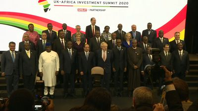 Leaders at UK-africa Investment Summit pose for family photo