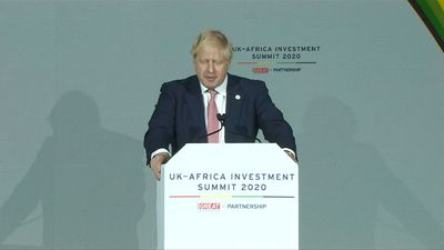 Boris Johnson pledges to be Africa's partner 'through thick and thin'