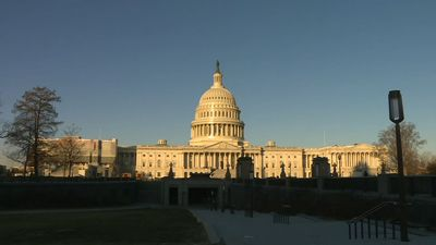 Images of US Capitol ahead of Senate impeachment trial