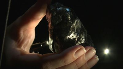 Romancing the stone: Louis Vuitton shows off huge rough diamond