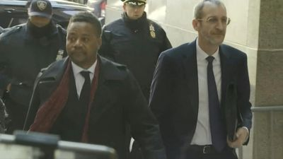 Actor Cuba Gooding Jr, accused of groping, arrives at court
