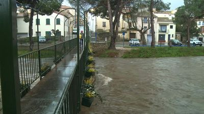River levels being closely monitored in Argelès-sur-Mer after powerful storm