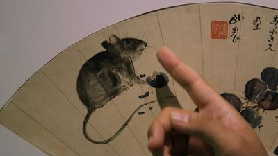 Year of the Rat: Chinese paintings pair rodents with fruits for fertility