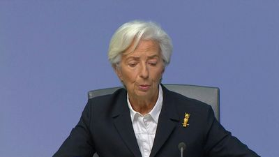 Economic risks 'less pronounced' as trade tensions ease: Lagarde