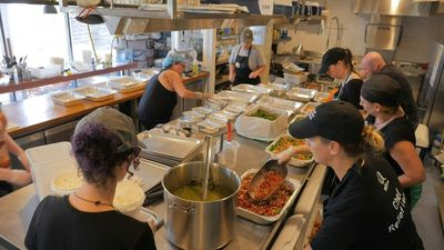 Australia: A NGO serves meals to communities devastated by bushfires