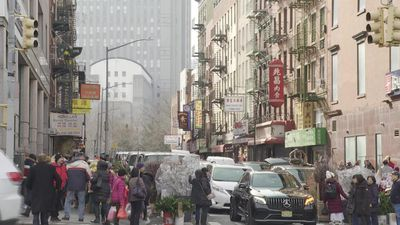 Views from New York Chinatown on the Wuhan virus