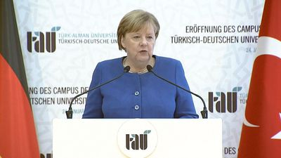 Merkel and Erdogan inaugurate Turkish-German university in Istanbul