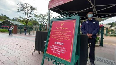 Hong Kong Disneyland closes over China virus fears