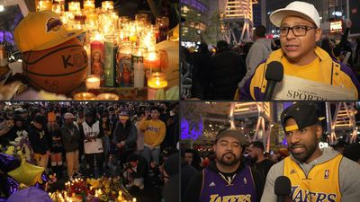 Kobe Bryant's death: Lakers fans pay tribute in Los Angeles