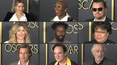 De Niro, DiCaprio, Pitt and other Oscar hopefuls attend luncheon