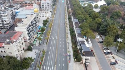 Ghost town: Drone images of Wuhan, epicentre of virus outbreak