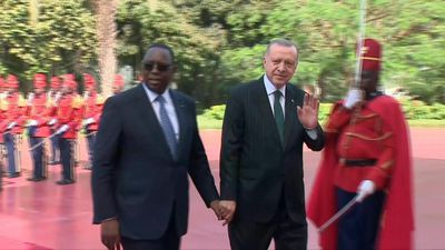 Turkish President Erdogan meets Senegalese counterpart in Dakar