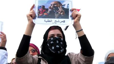 Iraq protesters rally in Karbala for one of their own to become PM