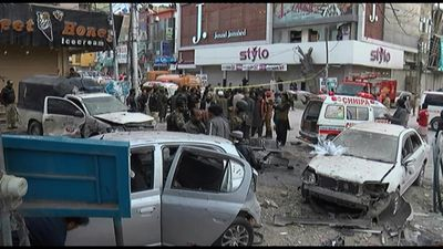 At least 8 killed in suicide attack in southwest Pakistan