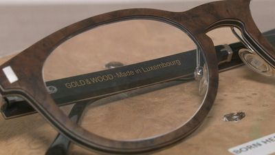 Luxury wooden eyeglasses, flagship of craftsmanship in Luxembourg