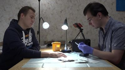 Body work: Russia's 'biohackers' push boundaries