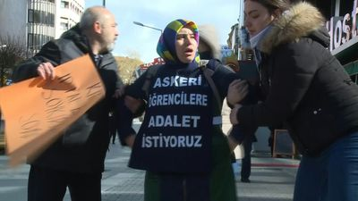Turkish mother fights to free cadet son from life sentence