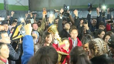 More than football: Kurdish women win big with Syria title
