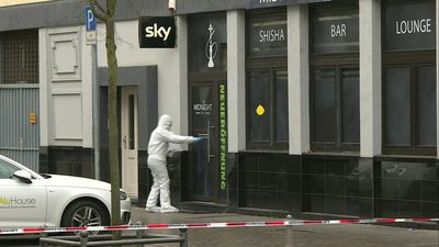 Germany: images from scene at Midnight shisha bar after deadly shooting