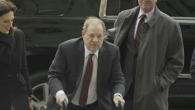 Weinstein arrives at court as jury deliberations enter third day