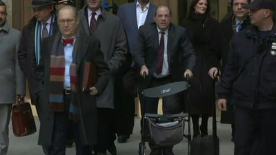 Harvey Weinstein leaves court as jury ends day three deliberations