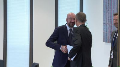 EU Council chief Charles Michel continues budget negotiations in Brussels