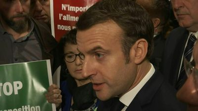Emmanuel Macron inaugurates the 57th Paris International Agricultural Show