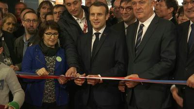 Emmanuel Macron inaugurates the 57th Paris International Agricultural Show (2)