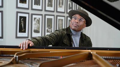 "Barrier-breaking pianist Alexis Ffrench hopes to offer an ""oasis of calm"" with new album"