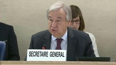Human rights 'under assault': UN chief