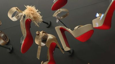 Louboutin's 30-year, shoe-creating career celebrated in Paris exhibition