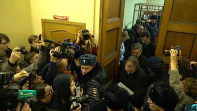 Russian activists back in court for controversial 'terror' trial