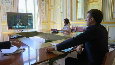 Coronavirus: Macron in videoconference with G20 counterparts