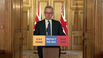 UK: PM has coronavirus but continues to lead government response (Gove)