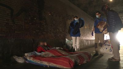 Belgium's homeless struggling under virus lockdown