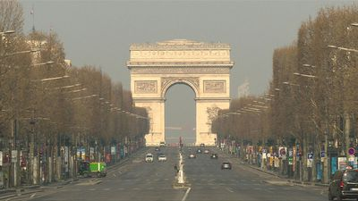 Coronavirus: Champs-Elysees lies empty on 12th day of lockdown