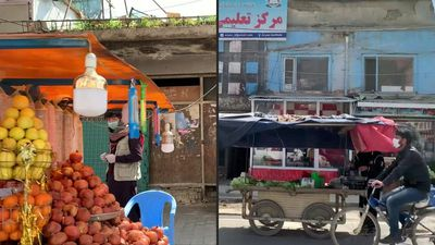 Coronavirus: Shops remain open as Kabul lockdown begins