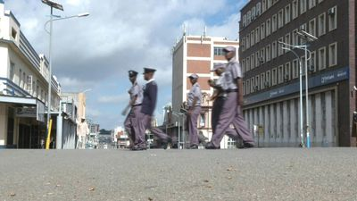 Coronavirus: Zimbabwe police patrol empty streets as lockdown begins