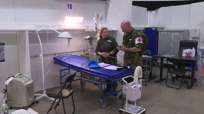 Stockholm region converts conference centre into field hospital for COVID-19 patients