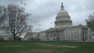 US Capitol deserted as Washington DC starts first day of stay-at-home order
