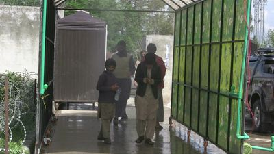 Coronavirus: Walk-through disinfectant tunnel installed in Islamabad