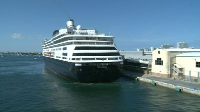 Virus-hit cruise ship Zaandam arrives in Florida port