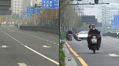 Then and now: Wuhan's cautious reawakening